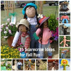 15 Scarecrow Ideas for Fall Fun