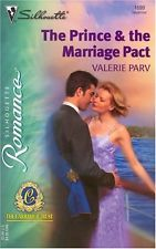 USED (GD) The Prince & The Marriage Pact (Silhouette Romance) by Valerie Parv