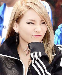 CL Lee Chaerin 2NE1 Fierce Beauty