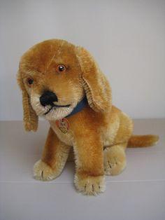 In my #ETSY Shop: #Steiff Vintage Bazi #Dachshund Puppy - ALL IDs - EAN 3317,00 – 1960 to 1967