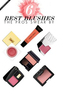 6 blushes you NEED to know about // tips from the pros