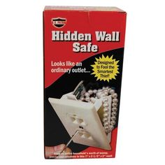 Wall Socket Diversion Safe Personal Home Security Personal Security, Personal Safety, Personal Care, Stash Containers, Food Containers, Fake Walls, Diversion Safe, Hidden Safe, Wall Safe