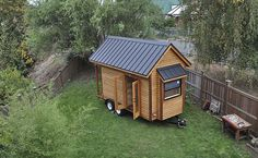 Think I might make my shed into a tiny guest house cool.