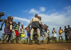 Bashada Tribe Men Dancing, Dimeka, Omo Valley, Ethiopia | Flickr - Photo Sharing!