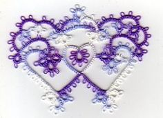Tat-a-Renda Patterns: Hearts Entwined/Crowning Hearts
