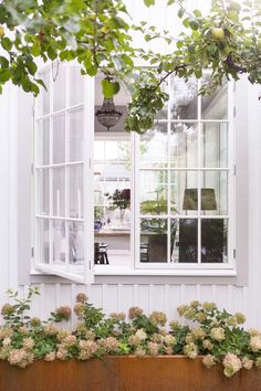A delightful century Swedish villa Cottage In The Woods, Nordic Home, Scandinavian Style, Windows And Doors, French Doors, Ibiza, My House, Beautiful Homes, Villa