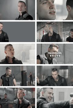 Brave and sadistic. #eric #divergent #dauntless