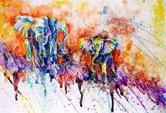 Elephant Featured Images - Curious Baby Elephant  by Zaira Dzhaubaeva