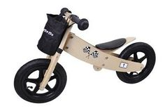 MAMAMEMO Quality First Boy/Girl Balance Bike Children Kid Gift Wood Age 2+ NEW