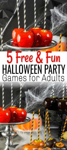Here are some easy Halloween Party Games for Adults that will cost you nothing. Adults can have fun at Halloween too without breaking the bank. Try these easy free Halloween party ideas for adults. Halloween Snacks, Halloween Games Adults, Halloween Party Activities, Halloween Food For Party, Easy Halloween, Halloween 2020, Halloween Birthday, Halloween Stuff, Halloween Decorations