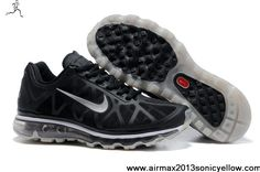 new styles 9e7a6 c6fc6 Buy 2013 New Black Metallic Silver Anthracite Mens Nike Air Max 2011 The  Most Lightweight Shoes