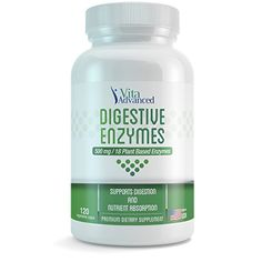 When you need help to digest food these enzymes may help http://www.amazon.com/Digestive-Enzymes-Supplement-Digestion-Vegetarian/dp/B00SX4E85S