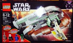 Lego Star Wars Slave I 6209 Rare Boba Fett IG-88 Dengar minifigures Retired NEW #LEGO