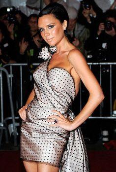 Fashion Victim Victoria Beckham - Fotos zum Thema Mode in der Erdbeerlounge