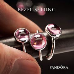 The droplet rings from our #SpringCollection2016 is set with one of the oldest stone setting techniques in the world: the bezel setting. #PANDORA #PANDORAcraftsmanship #PANDORAring