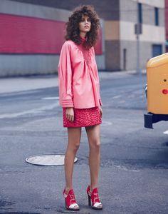 Eclectic Retro Fashion : Vogue Mexico Antonina Petkovic