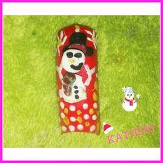 #3D #snow #diseño #design #uñas #nails  #KATHEBJ ✔