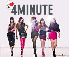 I ♥ 4MINUTE #4minute #kpop