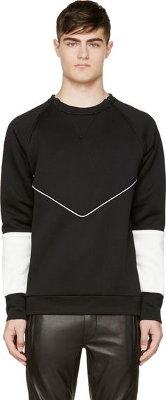 Black Destroyed Pullover Dress like a true Gentleman with New Modern and Street Styles! Check out GentlemanToBe! And use our special discount for Off! Use Promo Code at checkout! Weird Fashion, Mens Activewear, Fashion Graphic, Cropped Hoodie, Mens Sweatshirts, Sport Outfits, Cool T Shirts, Sportswear, Men Casual