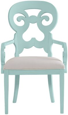 Stanley Coastal Living Coastal Living Colors Arm Chair- LOVE the color and style!