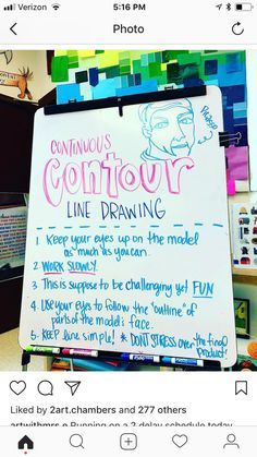 Ideas Contour Line Art Lesson Line Art Projects, Middle School Art Projects, Art School, Line Art Lesson, Art Lesson Plans, Contour Line Drawing, Contour Drawings, Drawing Drawing, Drawing Faces