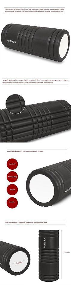 Foam Rollers 179800: Pemor Foam Roller - Eva Yoga Pilates Massage Point Trigger Gym Foam Roller - ... BUY IT NOW ONLY: $45.95