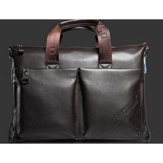 Newest 2016 brand Fashion Genuine Leather Men's Briefcase, Business Handbag, Men Messenger Bag, Big Bags Leather Laptop Bag, Leather Briefcase, Leather Shoulder Bag, Shoulder Bags, Travel Messenger Bag, Crossbody Messenger Bag, Backpack, Handbags For Men, Fashion Handbags