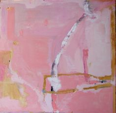 Art Painting Original Abstract painting large pink contemporary modern wall art fine art 36 x 36 by Cheryl Wasilow