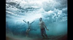 Danza en las olas -