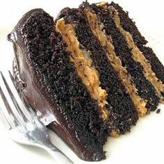 Peanut butter/chocolate cake