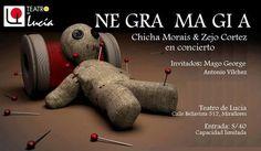 """LIMA VAGA: """"NE GRA MA GI A""""  música, improvisación y magia"""