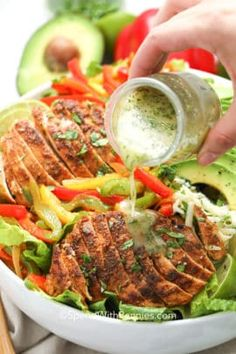 Classic Chicken Salad - Spend With Pennies Chicken Fajitas Salad, Chicken Burritos, Salad With Chicken, Chicken Fajita Bowl, Homemade Chicken Salads, Chicken Salad Recipes, Entree Recipes, Cooking Recipes, Healthy Recipes