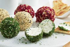 Use PHILADELPHIA Cream Cheese to make 3 delicious cheese balls - perfect for entertaining.