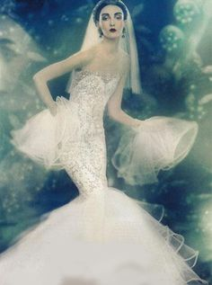 walkingthruafog:  Vintage bride