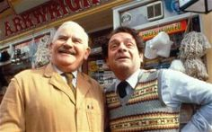 Ronnie Barker and David Jason - two heavyweights of British comedy during the last 4 decades.