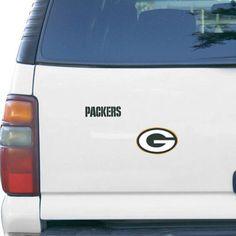 Green Bay Packers 2-Pack Team Logo Magnet Sheet