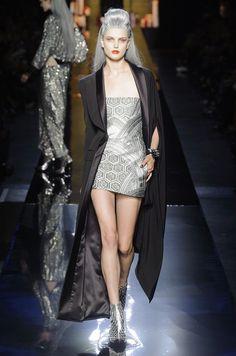 Jean Paul Gaultier 2014 Fall/Winter Haute Couture black long jacket