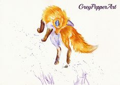 Bee Leaping   A silly young fox is full of high jinxs, leapi…   Flickr