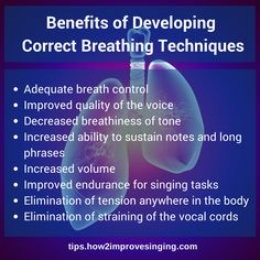 Click here to learn more about breathing techniques for singing: http://tips.how2improvesinging.com/breathing-techniques-for-singing/