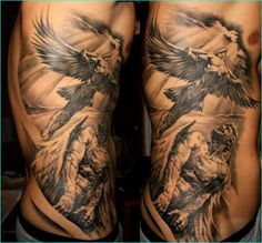 Mythology-Design-Tattoo-on-Hip-14.jpg 573×534 pixels