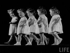 """Stroboscopic Children, 1941-1947"" Images by Gjon Mili, from the LIFE Magazine Archive"