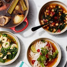 One Broth, 10 Soups