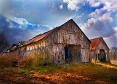 pictures of old barns | old barns