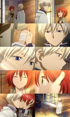 Akagami No Shirayukihime I LOVE THEM  SHIRAYUKI and ZEN one of the BEST couples of all time!!!!!!!!!!