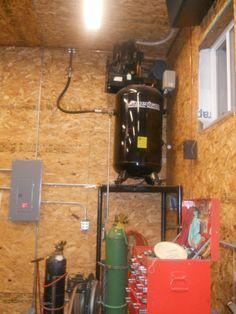Kobalt Vt6362 3 7 Hp 60 Gal 155 Psi Stationary Electric