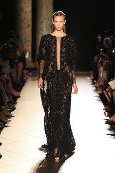 Elie Saab Fall 2012 Couture Fashion Show - Karlie Kloss (IMG)