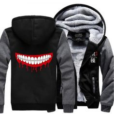 Tokyo Ghoul Winter Anime Hoodie 2 Colors - OtakuForest.com