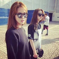 4Minute Gayoon & Sohyun. The Royal Palace in Stockholm