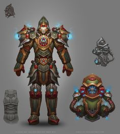 Gladiator Cobold for Heroes Arena in Allods Online MMO RPG.