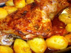 recette Cuisse de dinde à la tomate au four!!!
